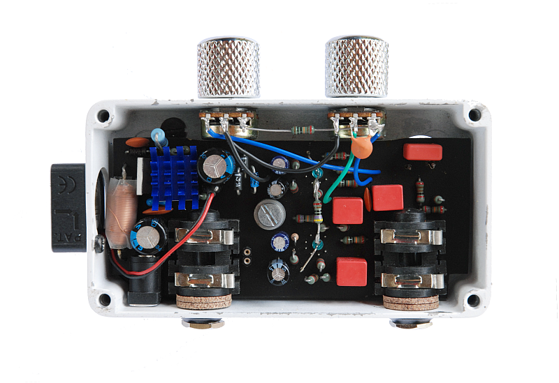JJS at : Electronic Projects : Class A Subminiature Amp